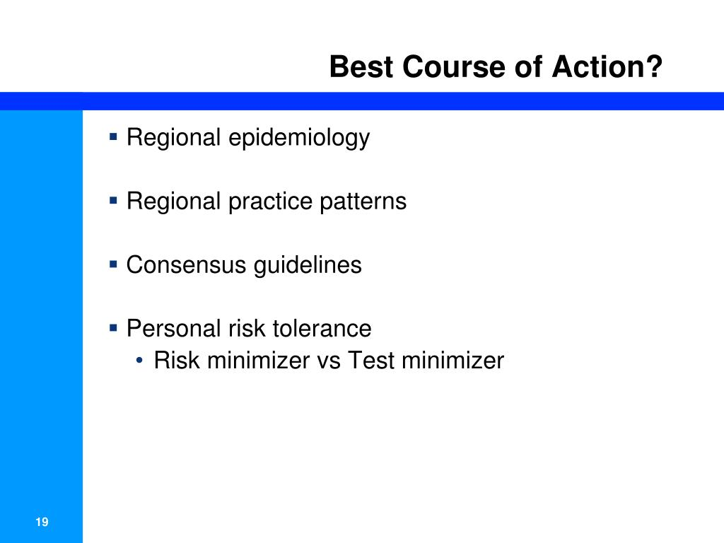 Best Course of Action?