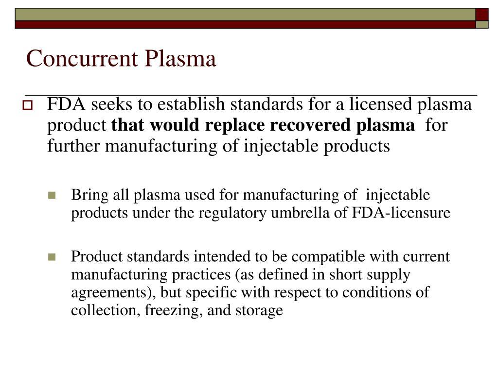 Concurrent Plasma