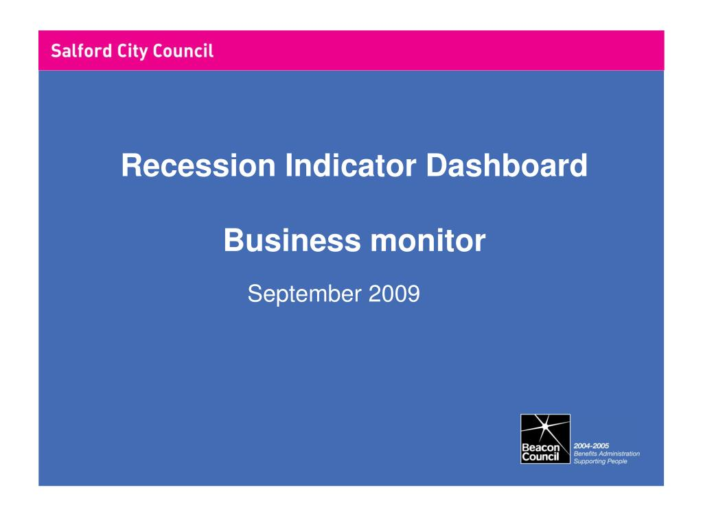 Recession Indicator Dashboard