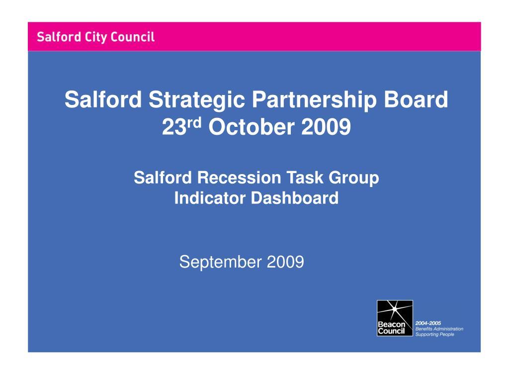 Salford Strategic Partnership Board