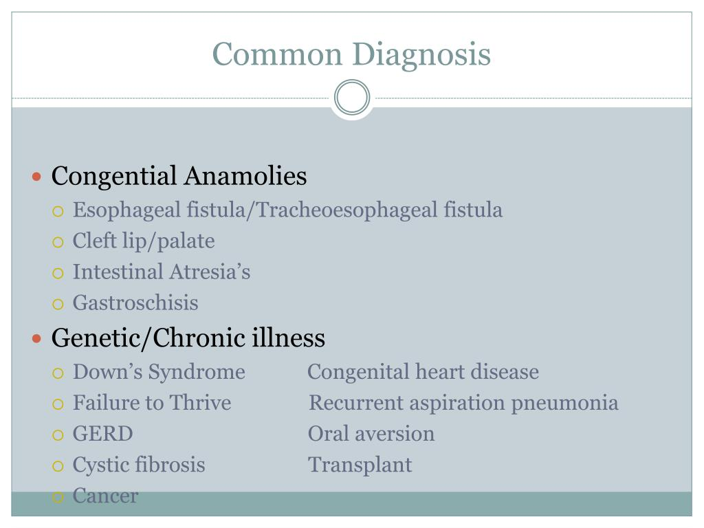 Common Diagnosis