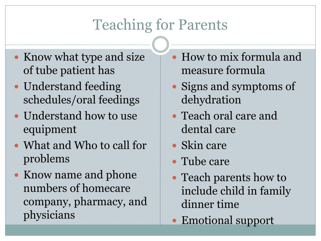 Teaching for Parents