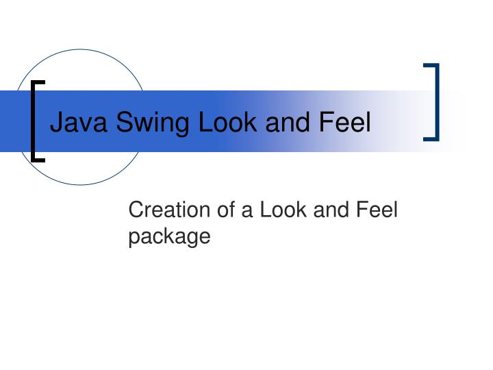 Java swing look and feel l.jpg