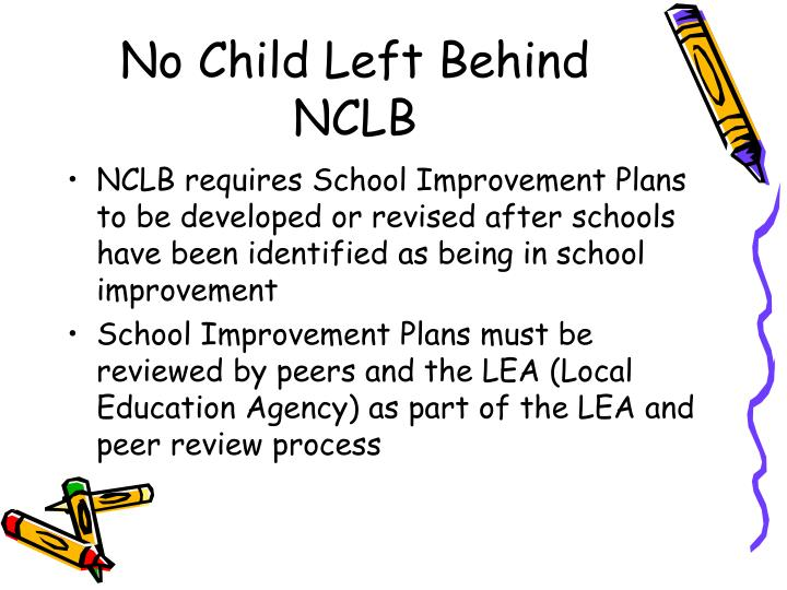 No child left behind nclb