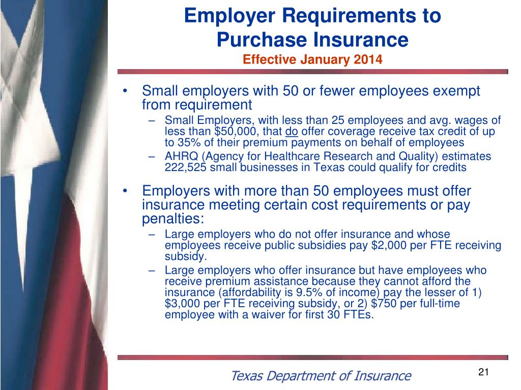 Employer Requirements to