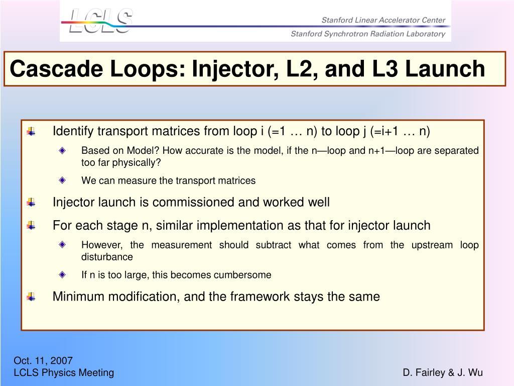 Cascade Loops: