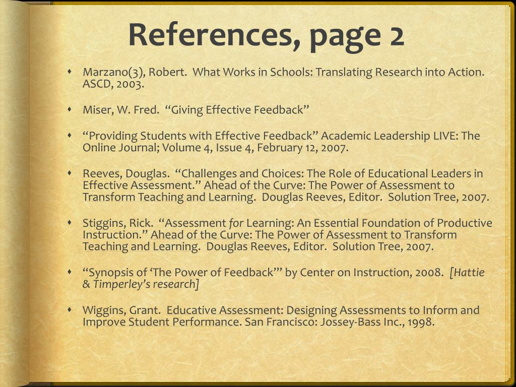 References, page 2