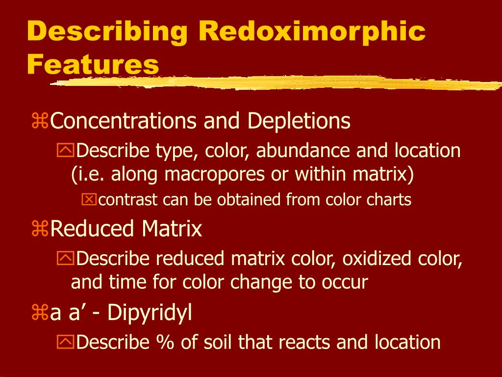 Ppt objectives powerpoint presentation id 329441 for Describe soil
