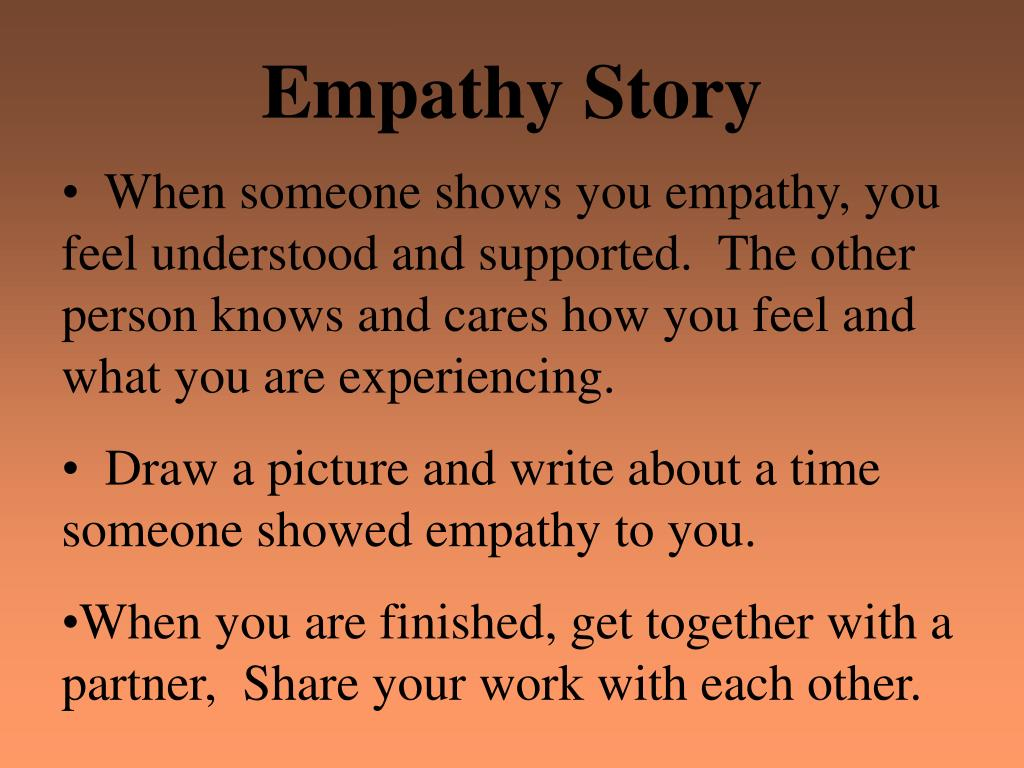 empathy story This page highlights stories and information that shows that animals are capable of empathy.