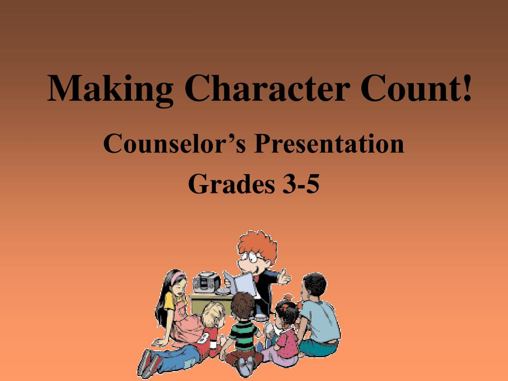 Making Character Count!