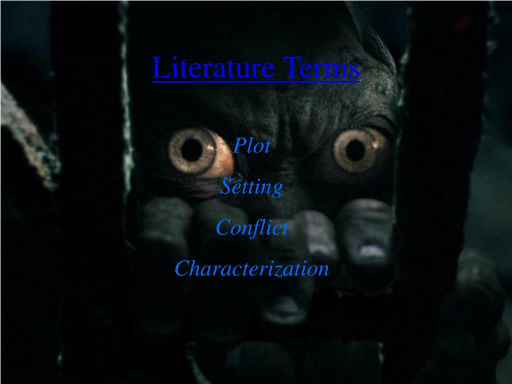 Literature Terms