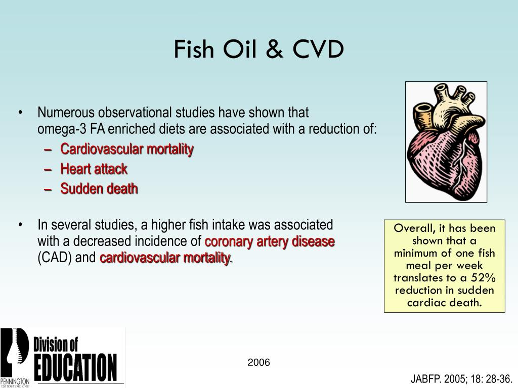 Fish Oil & CVD