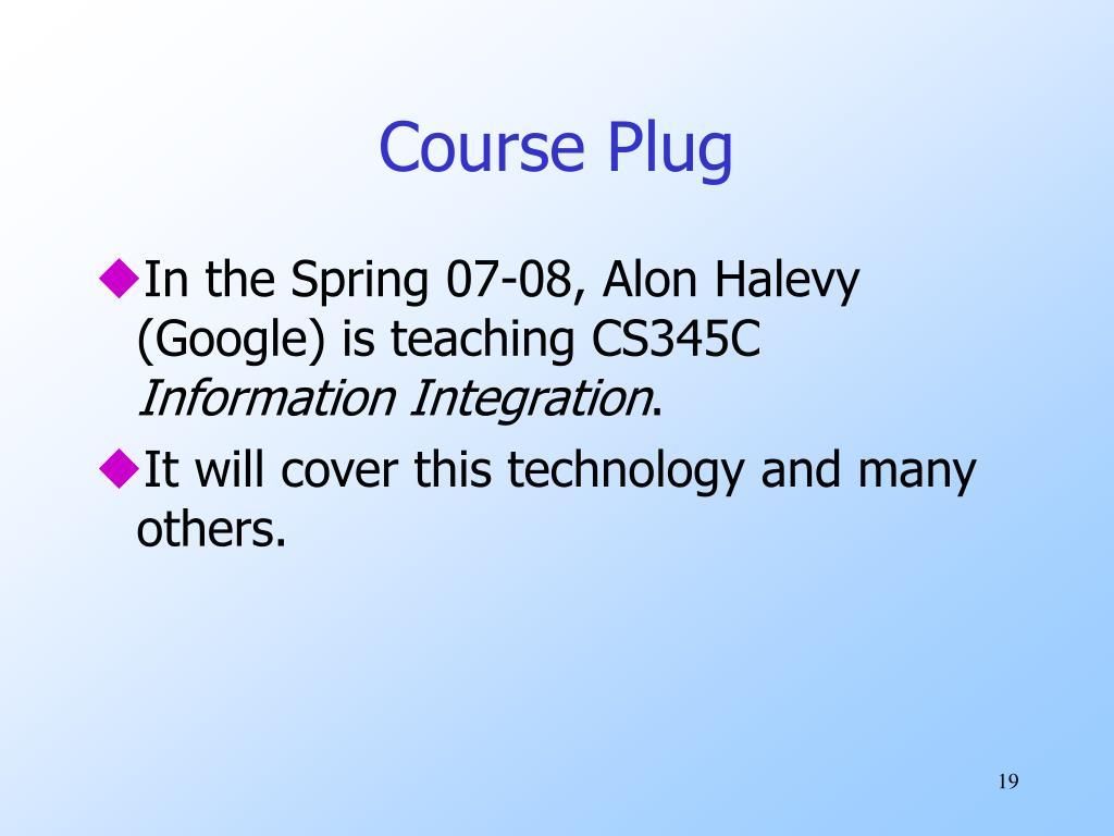 Course Plug