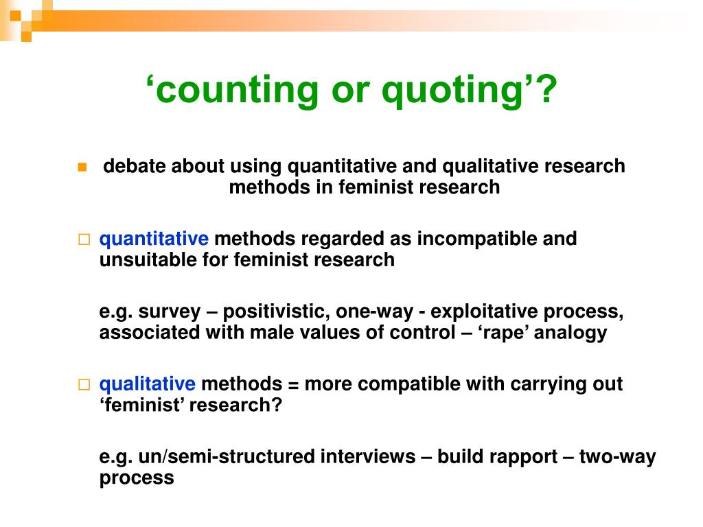 'counting or quoting'?