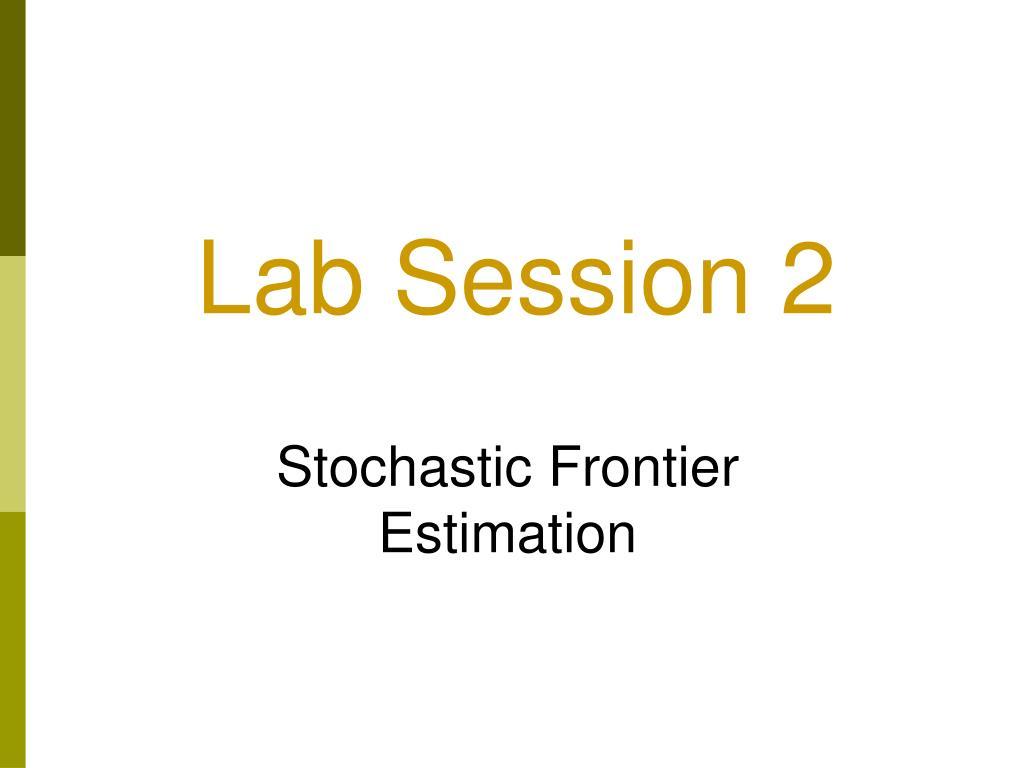Lab Session 2