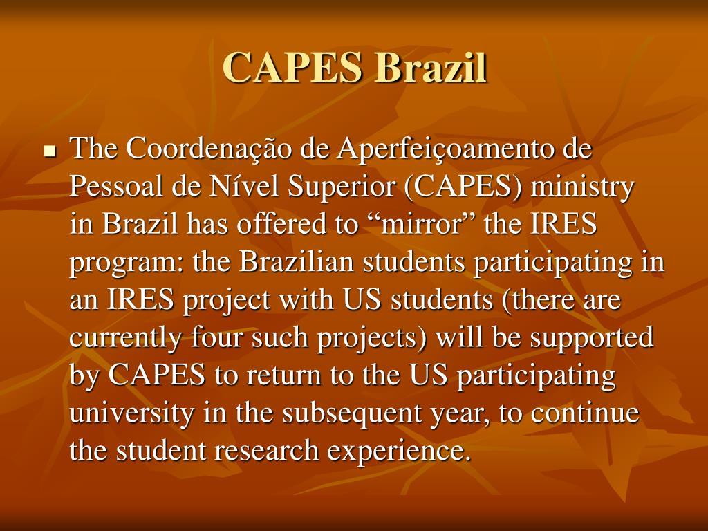 CAPES Brazil