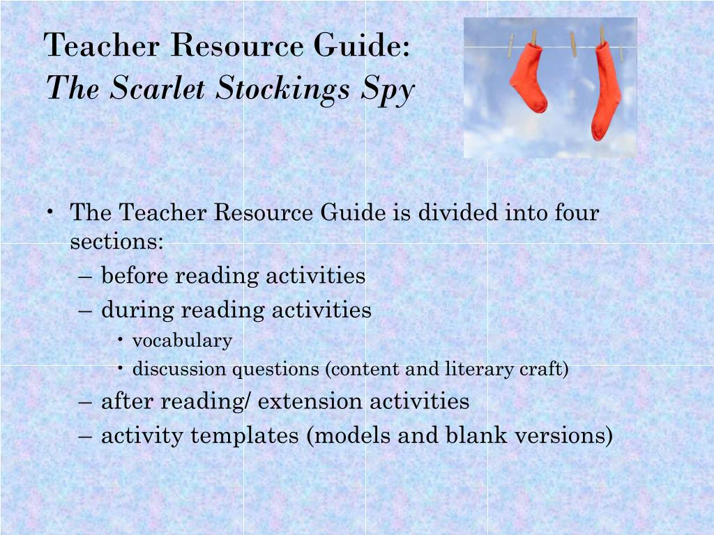 Teacher Resource Guide: