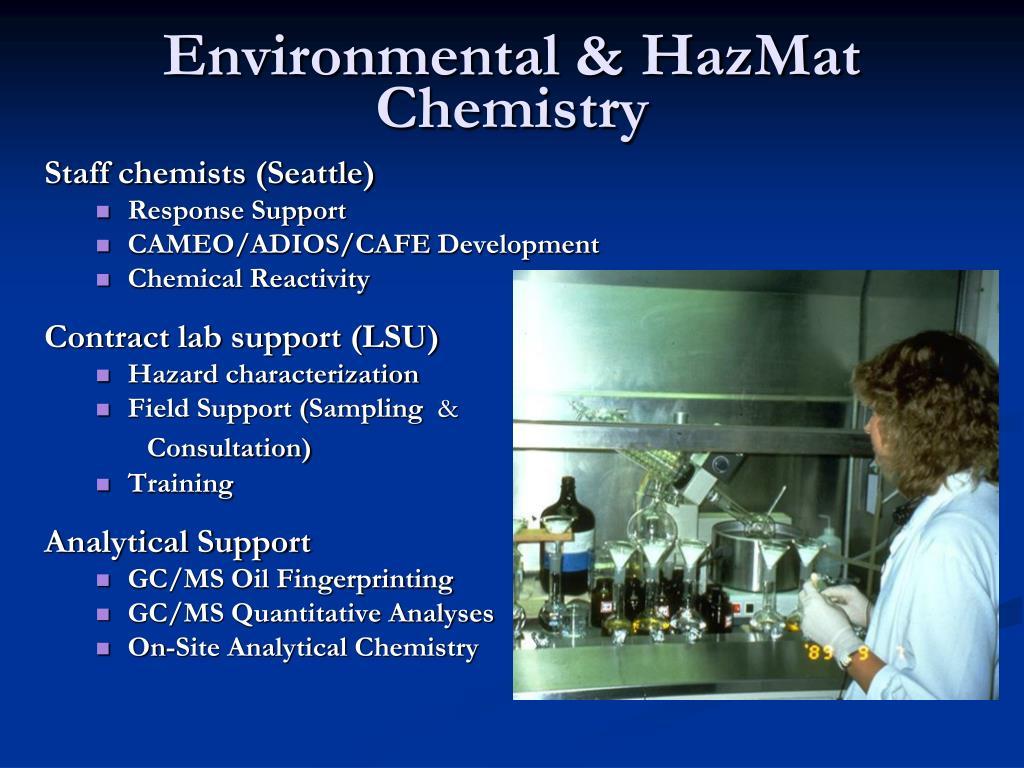 Environmental & HazMat Chemistry