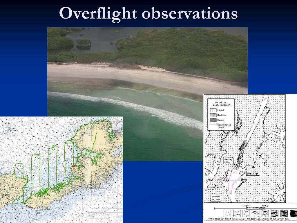 Overflight observations
