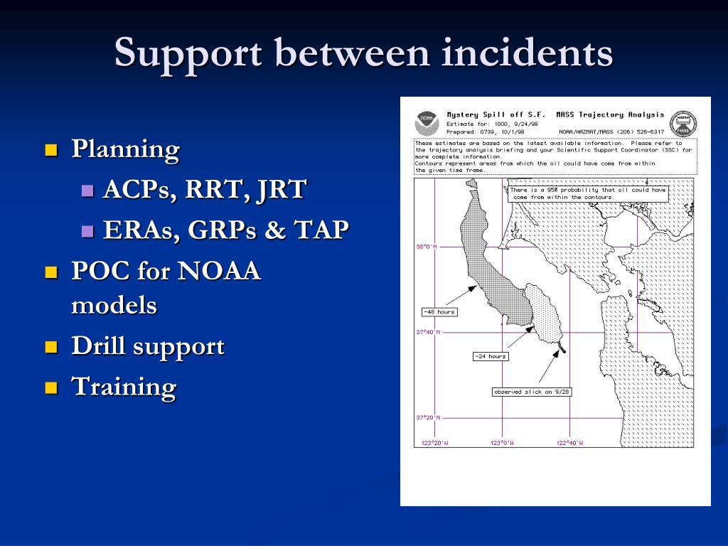 Support between incidents