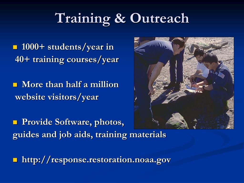 Training & Outreach