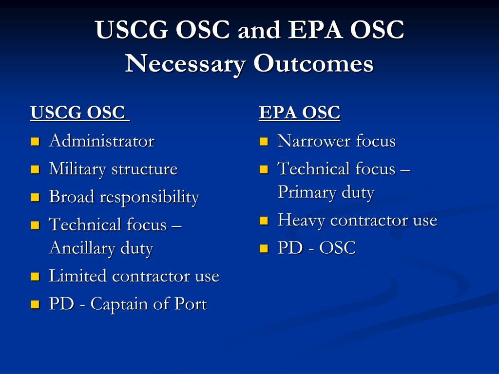 USCG OSC