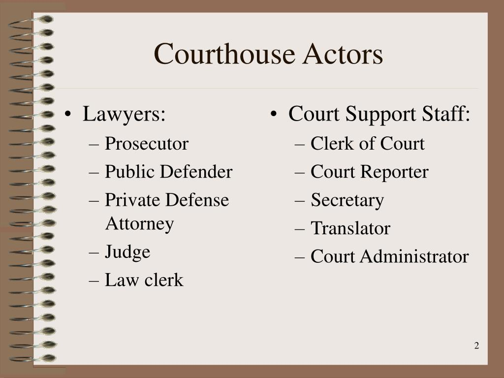 Lawyers: