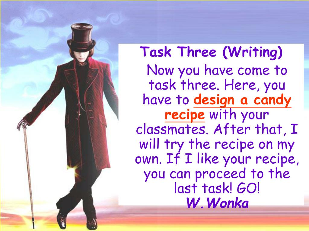 Task Three (Writing)