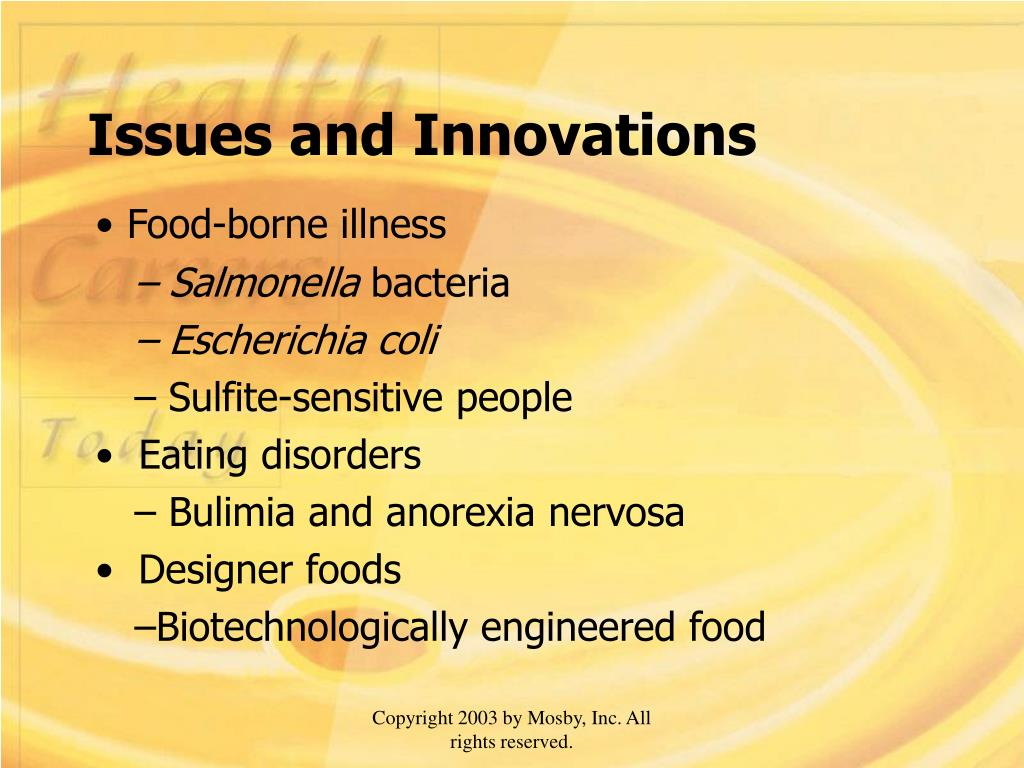 Issues and Innovations