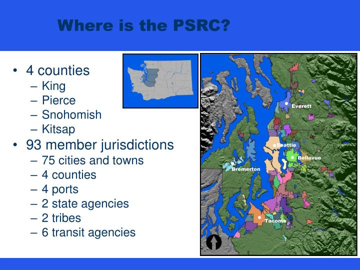 Where is the psrc