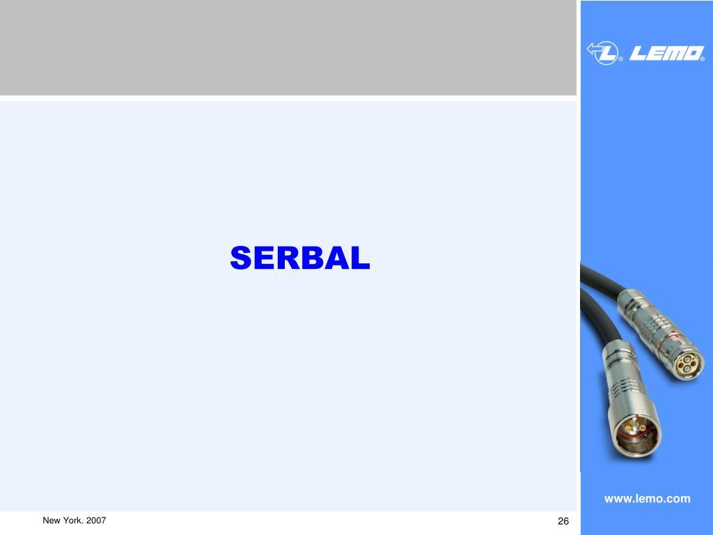 SERBAL
