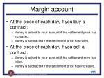 margin account
