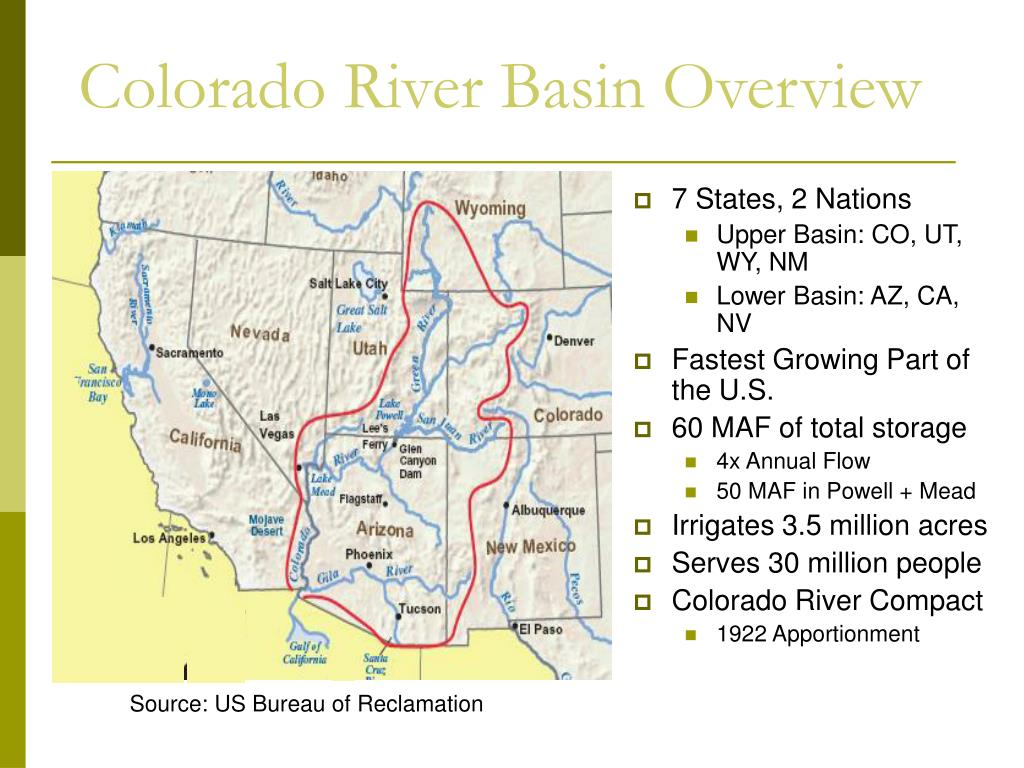 Colorado River Basin Overview