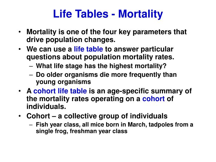 Life tables mortality l.jpg