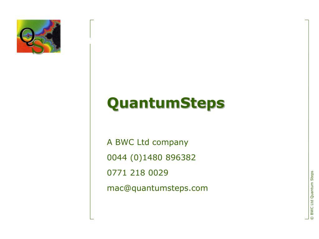 QuantumSteps