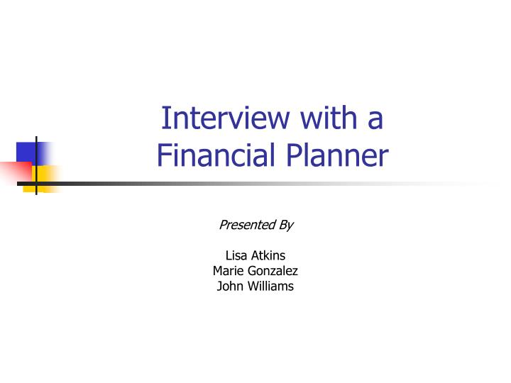 Interview with a financial planner l.jpg