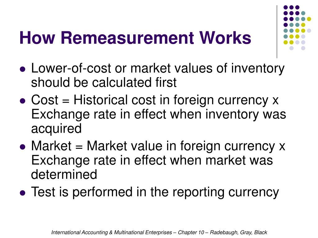 How Remeasurement Works