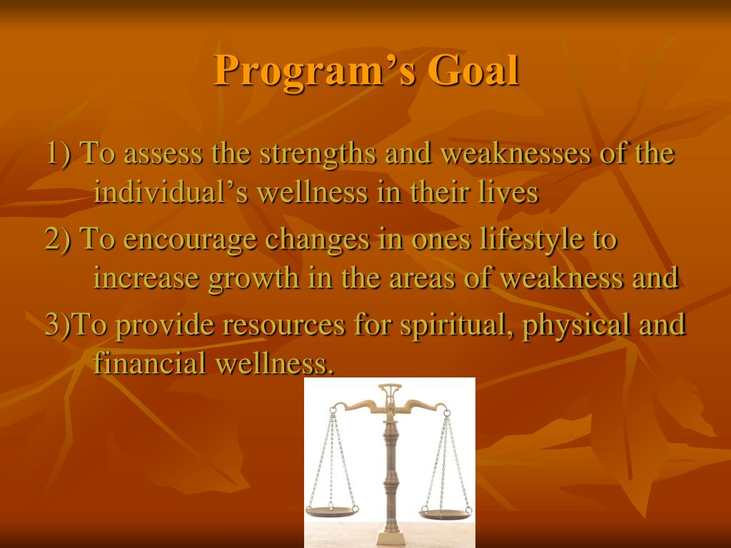 Program's Goal