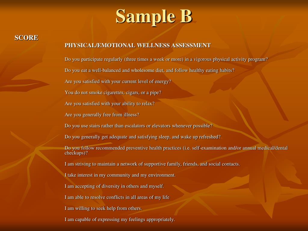 Sample B