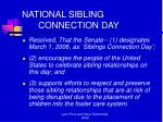 national sibling connection day