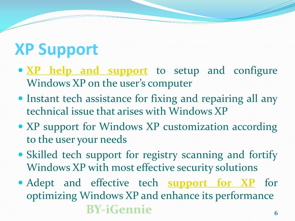 XP Support