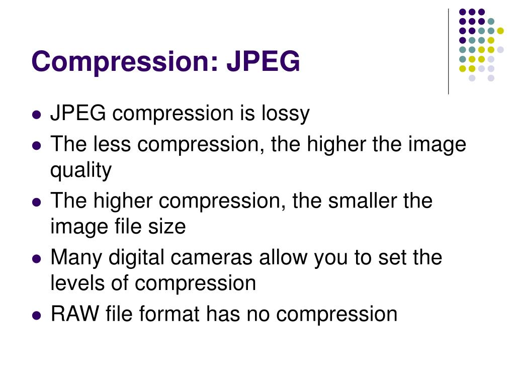 Compression: JPEG