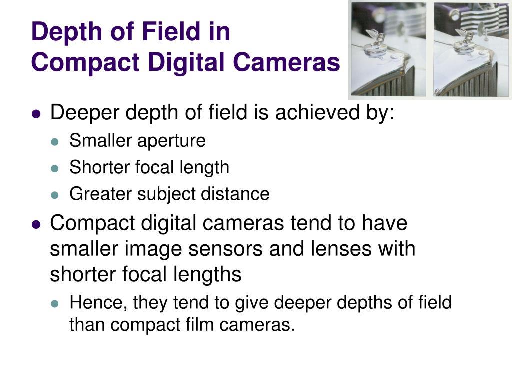 Depth of Field in