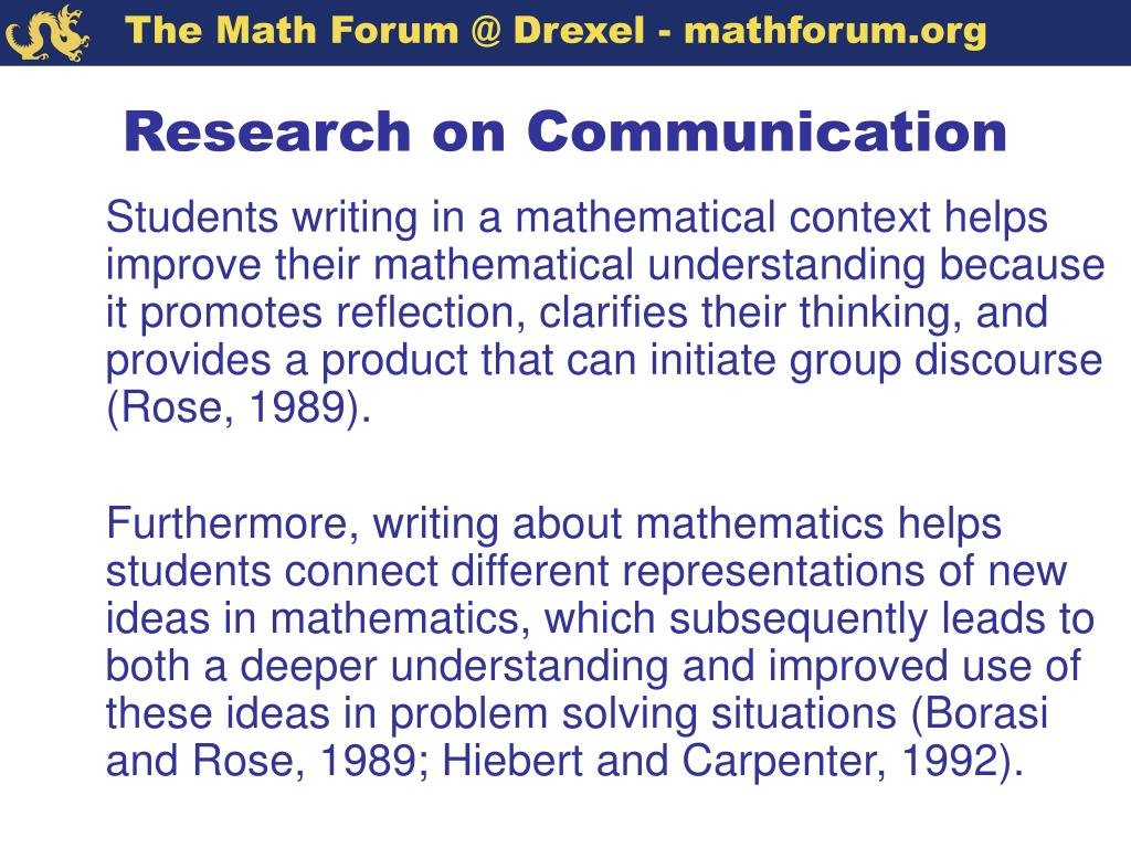 Research on Communication