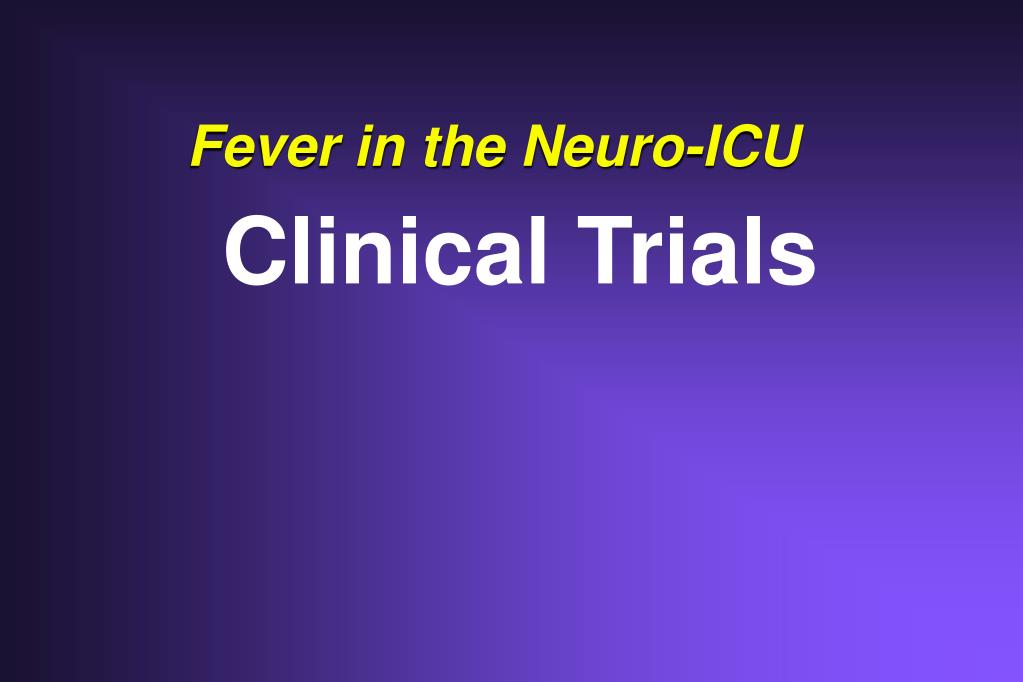 Fever in the Neuro-ICU