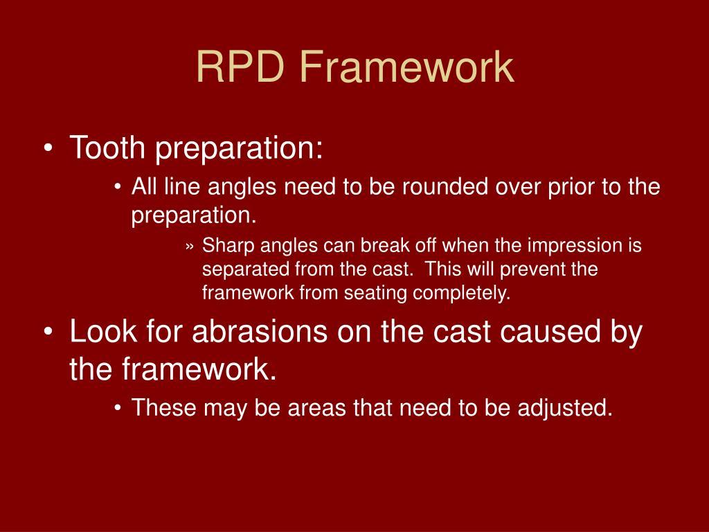 RPD Framework