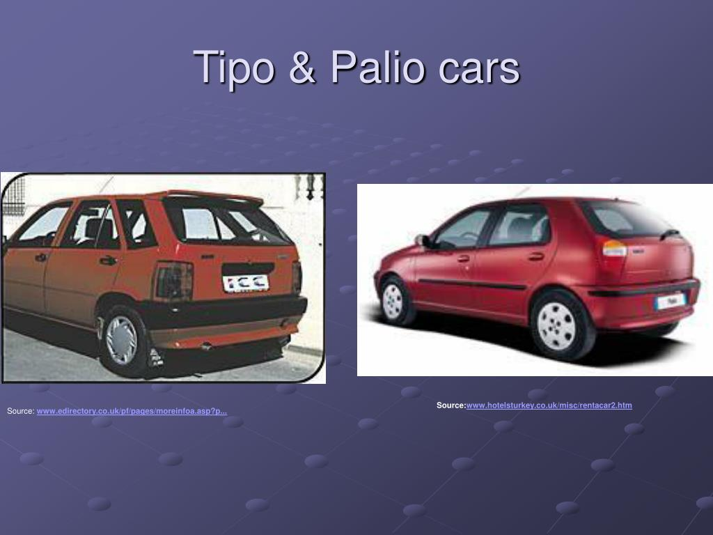 Tipo & Palio cars