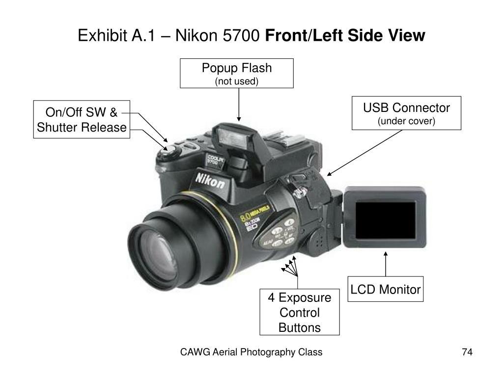 Exhibit A.1 – Nikon 5700