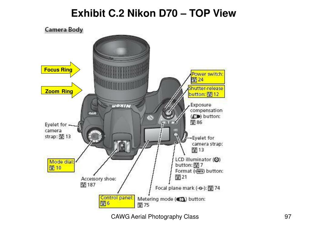 Exhibit C.2 Nikon D70 – TOP View