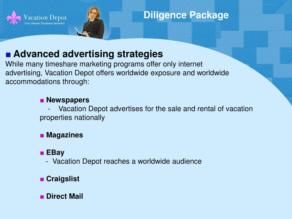 Diligence Package